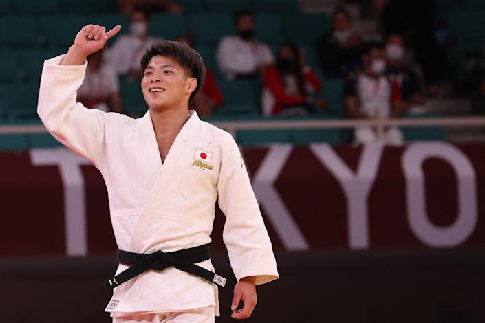 Hifumi and Uta Abe are the first Japanese brother-sister pair to win gold on the same day in the same Olympic competition. (Photo by Jack Guez/AFP)