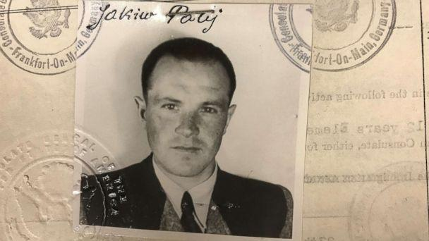 Jakiw Palij, allegedly a former Nazi labor camp guard, seen in his U.S. visa photo from 1949. (U.S. Department of Justice)