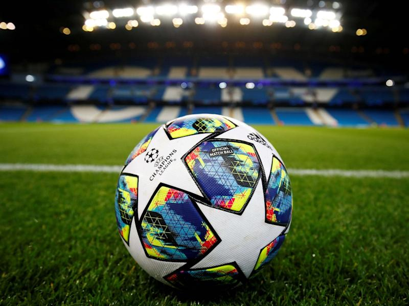 General view of a match ball inside the stadium: Action Images via Reuters