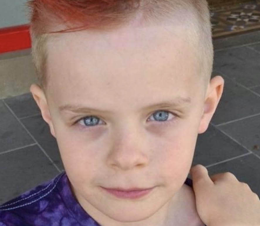 Cooper Onyett, 8, drowned at an aquatic centre while away on a school camp on Friday. Source: GoFundMe