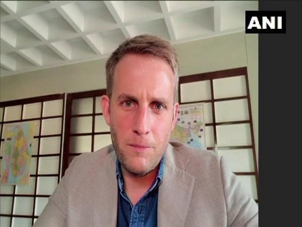 Charge d'affaires of Belgium Embassy Arnaud Lion talking to ANI on Friday.