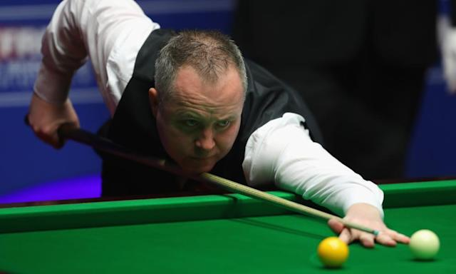 "<span class=""element-image__caption"">John Higgins' breaks of 63, 95, 58 and 49 enabled him to frustrate Mark Selby during their world championship final at the Crucible Theatre in Sheffield.</span> <span class=""element-image__credit"">Photograph: Warren Little/Getty Images</span>"