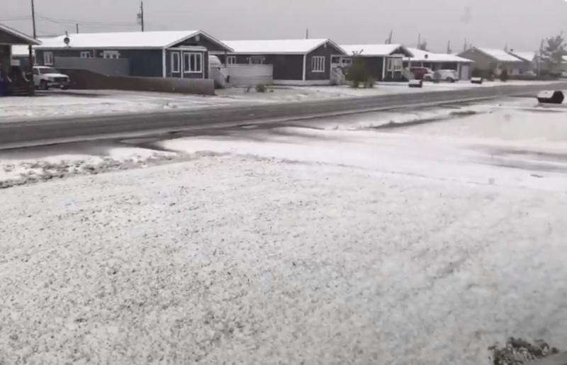 October snow slows early Thanksgiving travel in Atlantic Canada