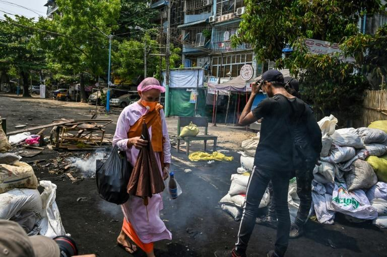 """""""Food supply to the impoverished population in Yangon region is rapidly deteriorating amid this situation,"""" the Japanese Foreign Ministry said"""