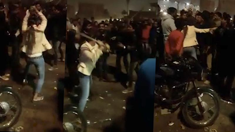 Caught on Camera: Women Takes on Her Molesters in Lucknow