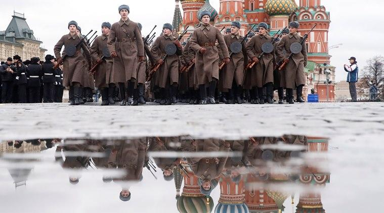 Russia World War, World War II, World War II Russia, Russia World War enactment, World news Indian Express