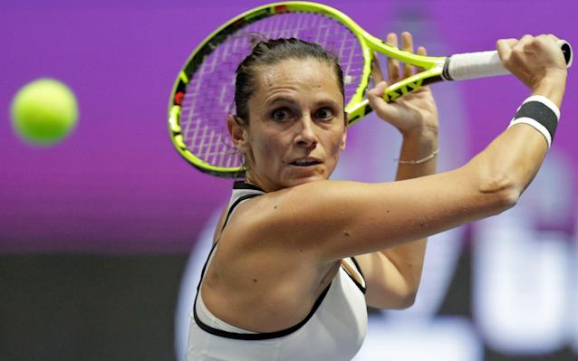 Roberta Vinci will face Sharapova on Wednesday and said she opposed the Russian being given wildcards