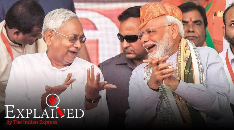 Bihar, Bihar government, Bihar coalition government, Nitish Kumar, JDU, BJP, JDU BJP relations, nitish kumar narendra modi, indian express, express explained