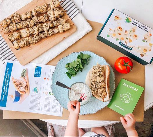 A meal kit with international flair, lots of learning, and lots of play. (Photo: Eat2Explore)