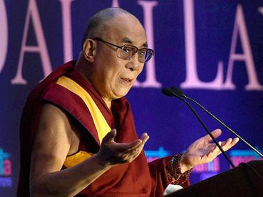 File image of Tibetan spiritual leader the Dalai Lama. PTI