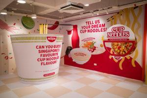 The playground's Nissin installation. Photo: Carolyn Teo/Coconuts