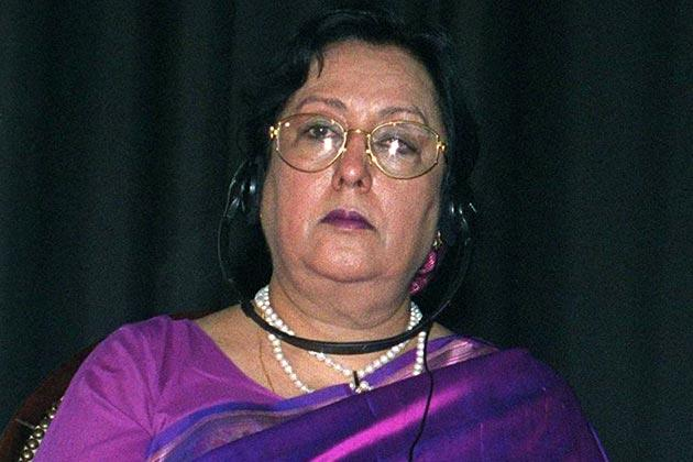 Najma Heptullah: Najma Heptullah, who was elected on BJP ticket from Madhya Pradesh, took oath in Urdu.