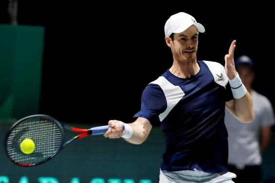 Murray is still working his way back to full fitness (EPA)