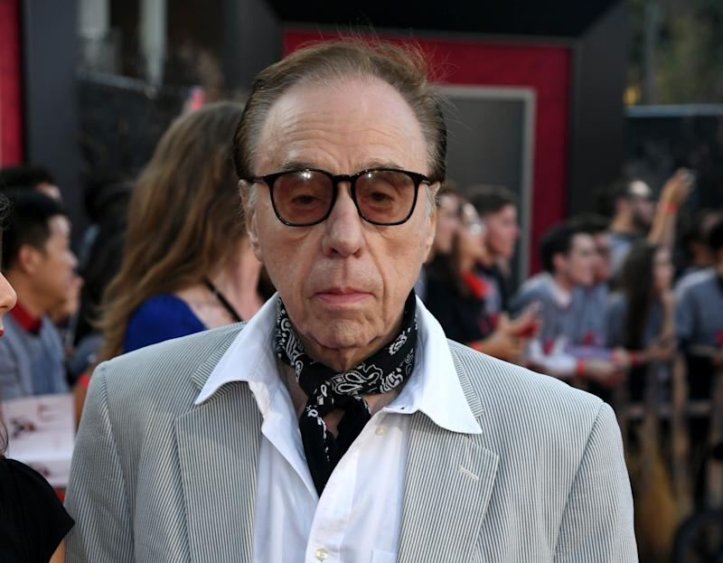 Peter Bogdanovich arrives at the premiere of
