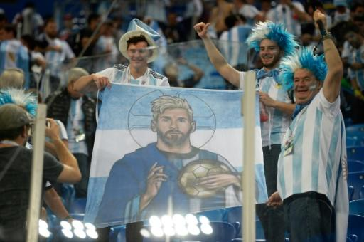 Divine touch: Lionel Messi said God helped Argentina reach the last 16
