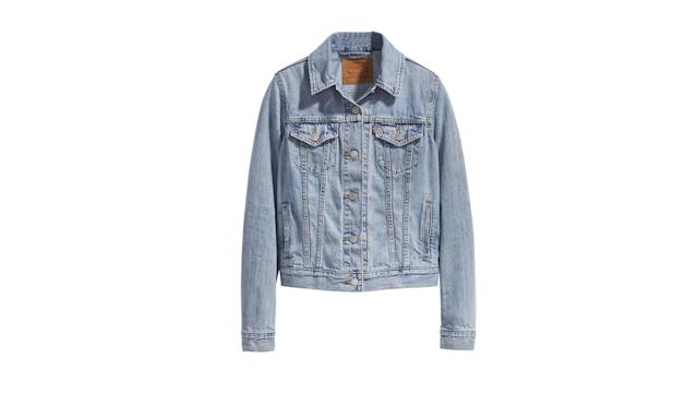 "<p>Original Trucker Jacket, $90, <a href=""https://www.levi.com/US/en_US/clothing/women/outerwear/original-trucker-jacket/p/299450029"" rel=""nofollow noopener"" target=""_blank"" data-ylk=""slk:levi.com"" class=""link rapid-noclick-resp"">levi.com</a> </p>"