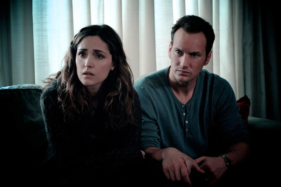 """<p>Another supernatural thriller from James Wan, 2010's <strong>Insidious</strong> is a ghost story that will crawl under your skin. Patrick Wilson and Rose Byrne appear in the original, which has spawned three sequels and prequels. </p><p><a href=""""https://www.netflix.com/title/70142542"""" class=""""link rapid-noclick-resp"""" rel=""""nofollow noopener"""" target=""""_blank"""" data-ylk=""""slk:Watch Insidious on Netflix now."""">Watch <strong>Insidious</strong> on Netflix now.</a></p>"""