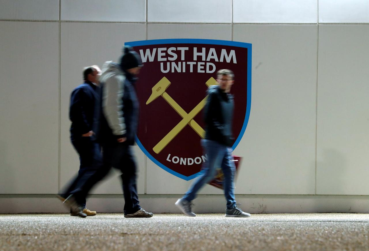 "Soccer Football - Premier League - West Ham United vs Leicester City - London Stadium, London, Britain - November 24, 2017   General view outside the stadium before the match     Action Images via Reuters/Andrew Couldridge  EDITORIAL USE ONLY. No use with unauthorized audio, video, data, fixture lists, club/league logos or ""live"" services. Online in-match use limited to 75 images, no video emulation. No use in betting, games or single club/league/player publications. Please contact your account representative for further details."
