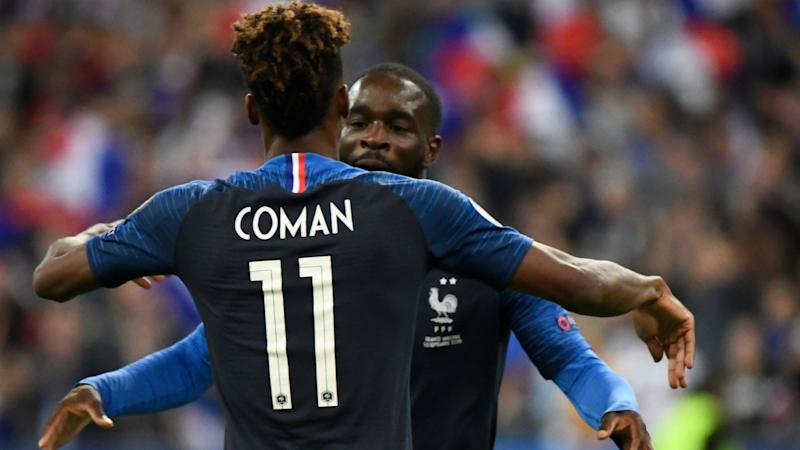 'He needed that' - Coman's strong showings delight France boss Deschamps