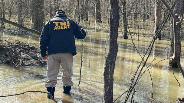PHOTO: The Tennessee Bureau of Investigation found the dead body of David Vowell in Reelfoot Lake State Park in northwest Tennessee on Saturday, January 30, 2021. He was allegedly responsible for the murder of two fellow duck hunters. (Tennessee Bureau of Investigation)