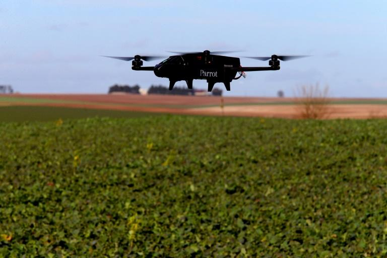 More and more wine makers in Europe are turning to drones as more accurate and less wasteful ways to spray fungicide over their vines