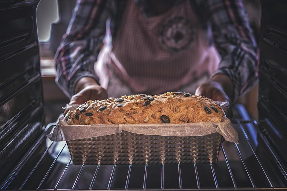 "<p>In case you haven't noticed, baking your own bread during coronavirus is a quarantine bucket list item. People everywhere have taken to <a href=""https://www.thedailymeal.com/how-to-bake-bread-at-home?referrer=yahoo&category=beauty_food&include_utm=1&utm_medium=referral&utm_source=yahoo&utm_campaign=feed"" rel=""nofollow noopener"" target=""_blank"" data-ylk=""slk:social media to share their bread baking successes"" class=""link rapid-noclick-resp"">social media to share their bread baking successes</a>, and you can too.</p>"