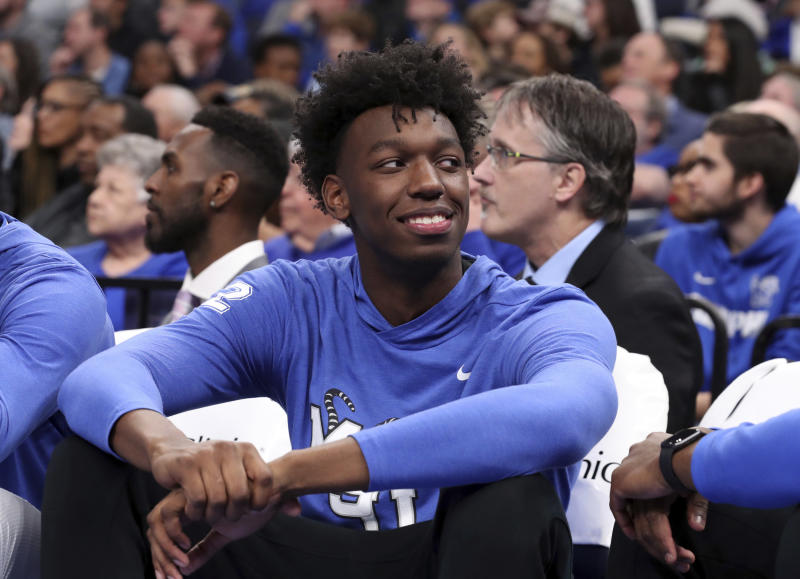 James Wiseman leaves University of Memphis to prepare for National Basketball Association draft