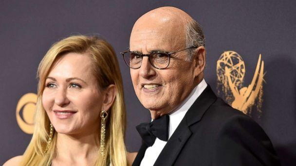 PHOTO: Jeffrey Tambor and his wife Kasia Tambor attend the 69th Annual Primetime Emmy Awards on Sept. 17, 2017 in Los Angeles. (John Shearer/WireImage/Getty Images)