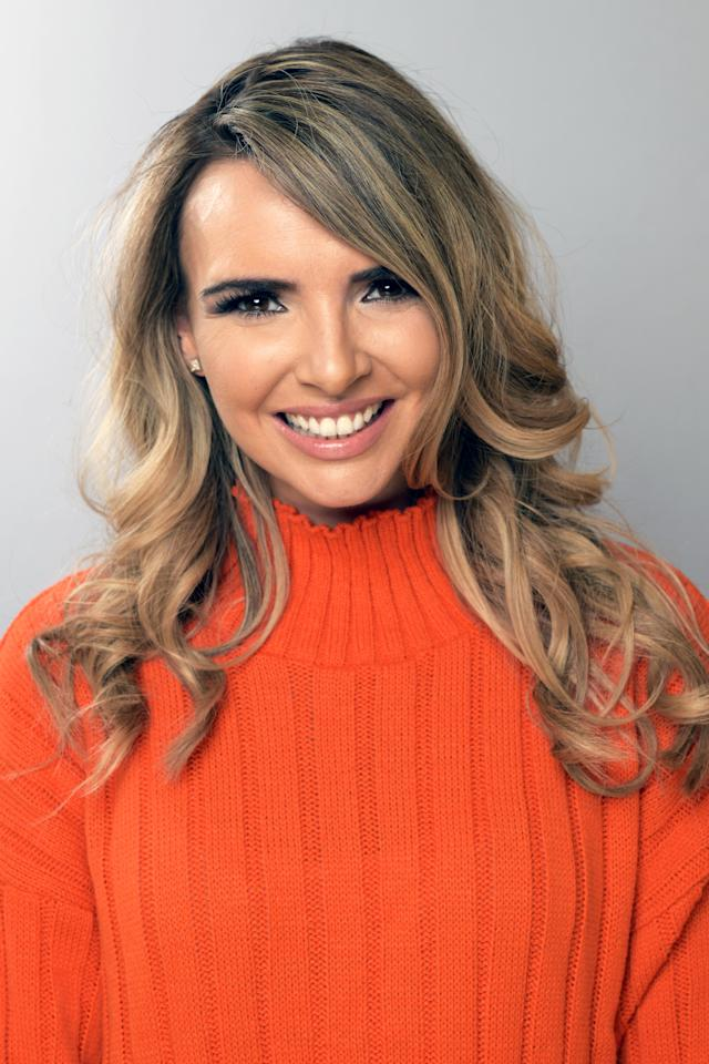 Nadine Coyle poses for a portrait backstage at BBC Children In Need's 2018 appeal night at Elstree Studios on November 16, 2018 in Borehamwood, England. (Photo by Dave J Hogan/Dave J Hogan/Getty Images)