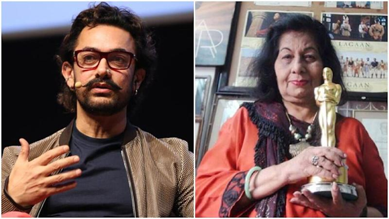 Aamir Khan Mourns Bhanu Athaiya's Demise, Offers Condolences to Her Family (View Tweet)