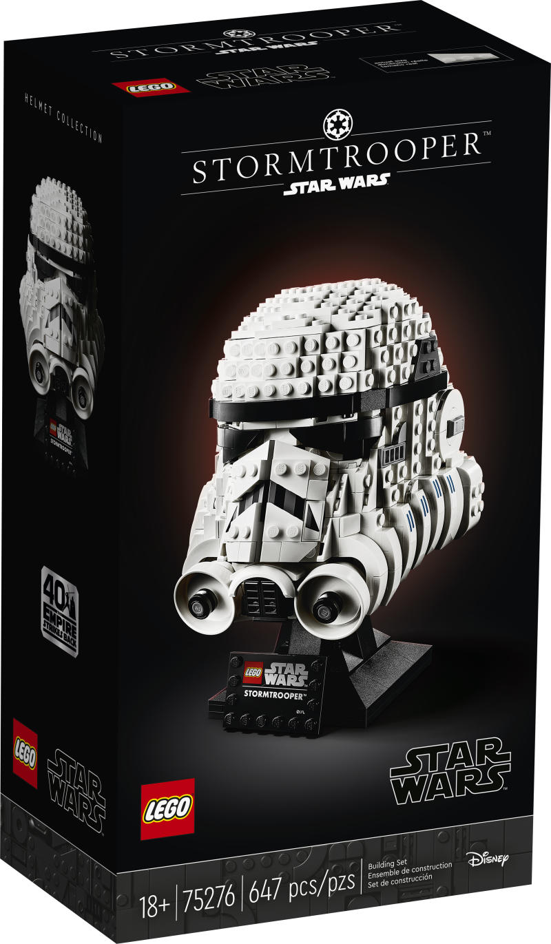 LEGO® Star Wars™ Stormtrooper™ Buildable Model Helmet (LEGO Group)