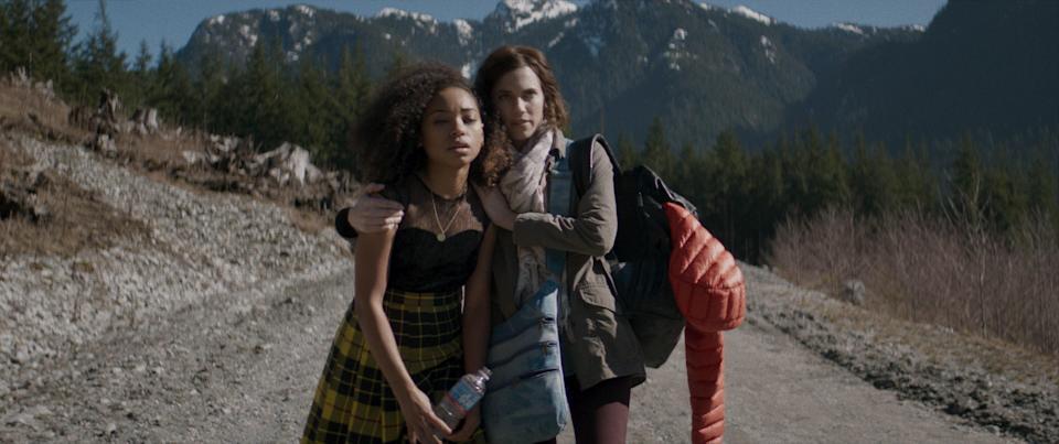 "<p>This movie, starring Allison Williams and Logan Browning, takes some real big unexpected turns along the way. We won't spoil the ending, but brace yourself for some gore. </p> <p><a href=""https://www.netflix.com/title/80211638"" rel=""nofollow noopener"" target=""_blank"" data-ylk=""slk:Available to stream on Netflix"" class=""link rapid-noclick-resp""><em>Available to stream on Netflix</em></a></p>"