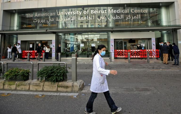 Lebanese doctors have seen their salaries or fees plummet in value, and their dollar savings trapped in the bank amid the country's economic crisis
