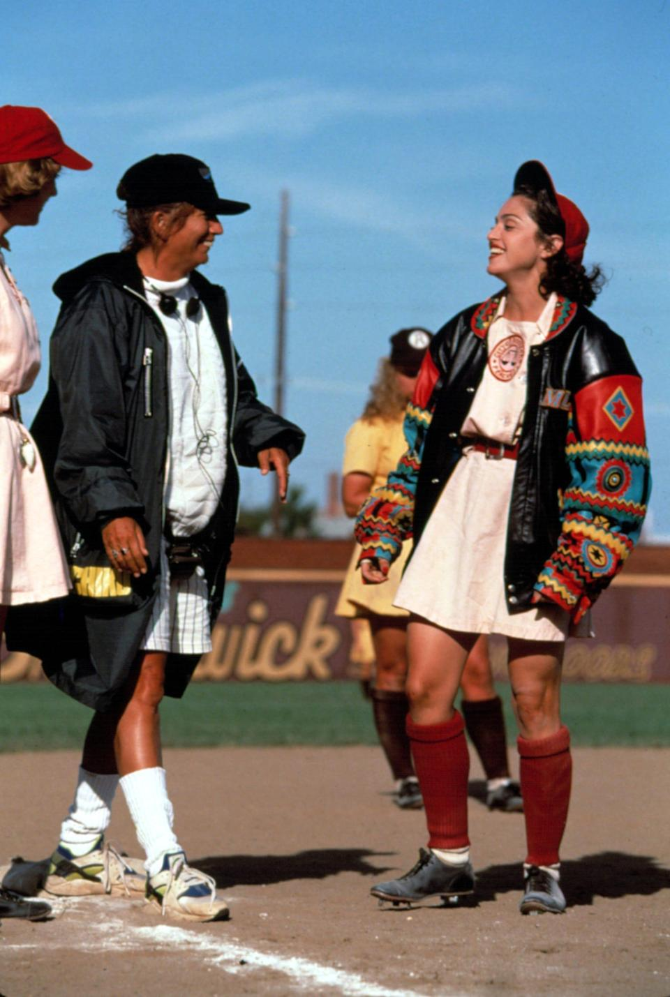 """Penny Marshall directed Madonna in """"A League of Their Own,"""" the first movie directed by a woman to gross $100 million at the box office."""