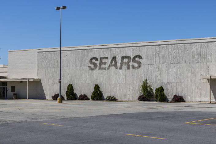 Kokomo - Circa May 2017: Recently shuttered Sears Retail Mall Location. According to a regulatory filing, Sears Holdings Corp. lost more than $2 billion in 2016 XI