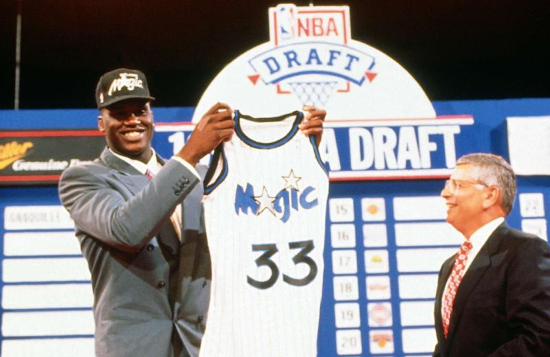 On this day in history, Portland hosted the 1992 NBA Draft, Magic drafted Shaq