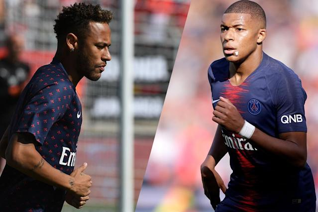 PSG pair Kylian Mbappe and Neymar could be on their way to Real Madrid, according to reports.