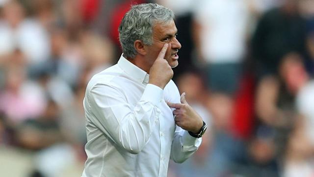 If Manchester City splash the cash again, their defence of the Premier League title could prove to be a procession, Jose Mourinho has said.