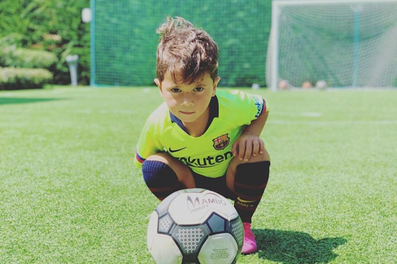 Lionel Messi's Son Scoring a Goal and Mimicking His Iconic Celebration Is Breaking The Internet | Watch