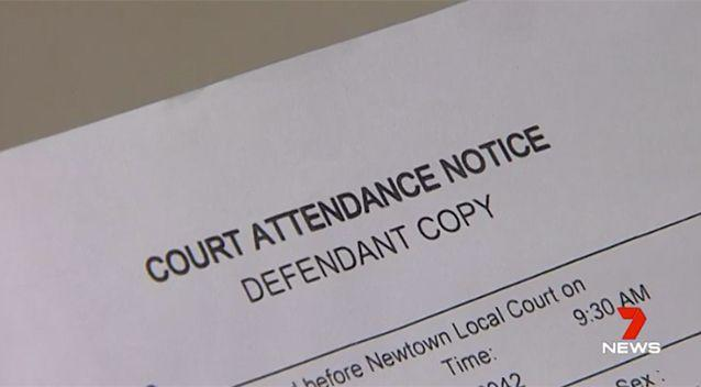 Meow was issued a court attendance notice. Source: 7 News