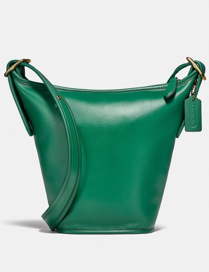 <p>We love the unexpected silhouette of this <span>Duffle 16</span> ($350).</p>