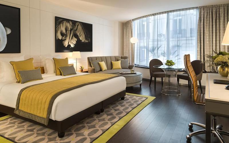 La Clef Champs-Élysées Paris is a suitably stylish place to stay in one of the world's foremost fashion centres