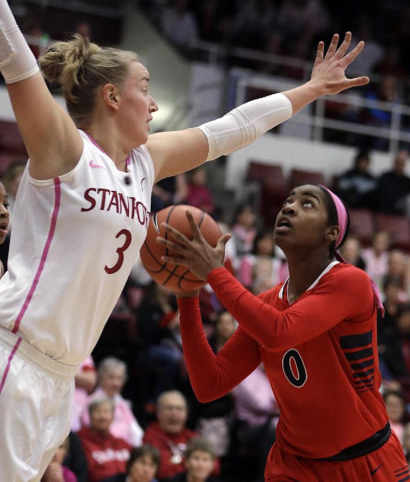 No. 6 Stanford women find groove, beat Arizona