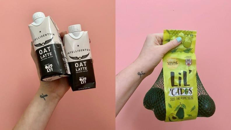 I'm obsessed with these mini avocados and my husband  loves  oat milk lattes, so these products were a huge win.
