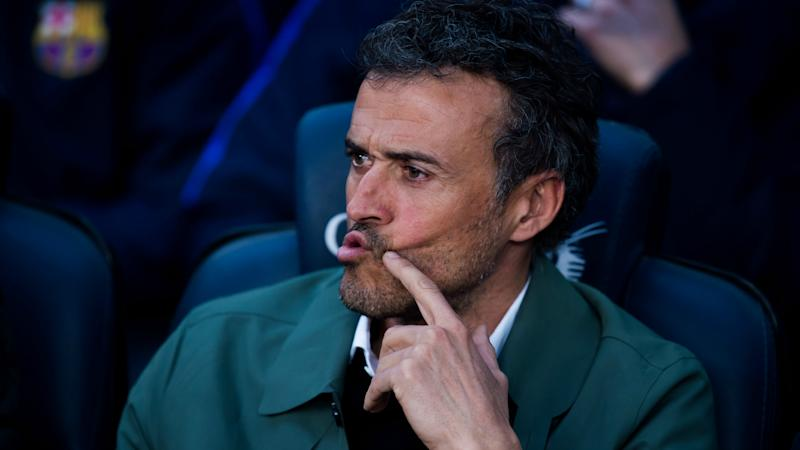 Barcelona's first half against Sevilla was a dream - Luis Enrique