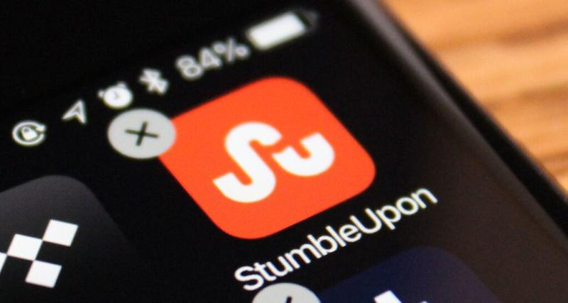 So long, StumbleUpon