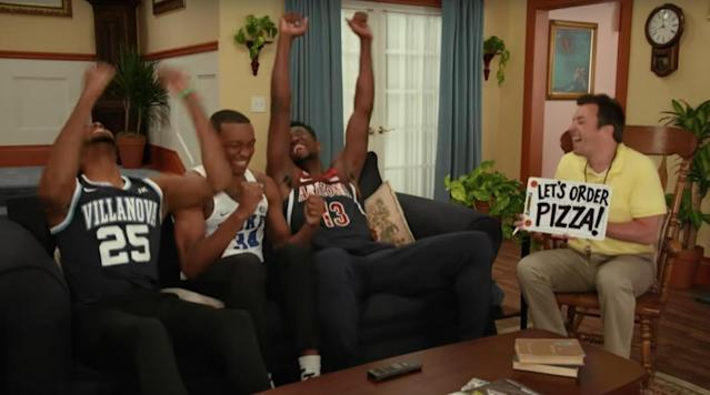 If you love 90s sitcoms and basketball, then Jimmy Fallon just created your new favorite show. Sort of.