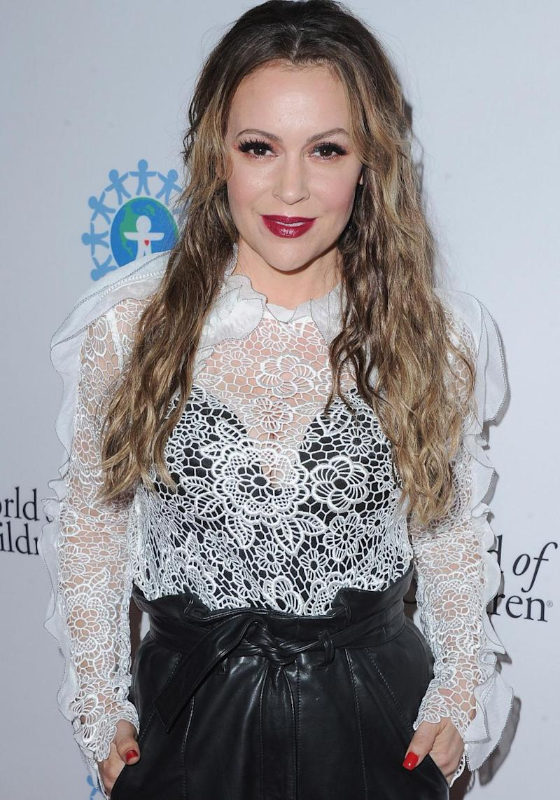 Alyssa Milano is suing her former business manager. Source: Getty