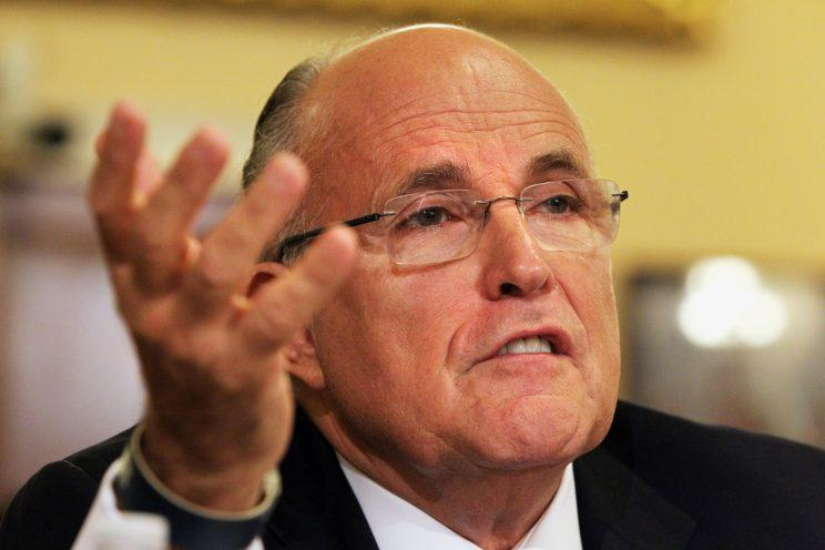 Former New York City Mayor Rudy Giuliani testifies on Capitol Hill in Washington, D.C., July 10, 2013. (Photo: Jacquelyn Martin/AP/File)