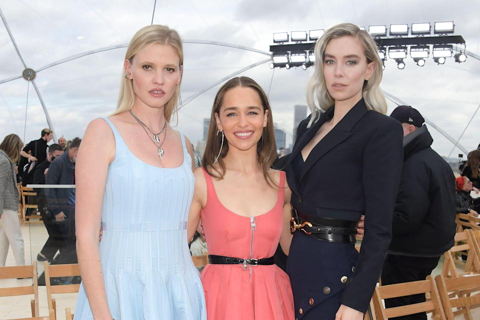 <p>While whatever is on the runway can be totally awe-inspiring, it's often the front row- or the FROW as we like to call it - that catches our eye. Though all physical shows aren't back yet, there's enough to have a snoop at the who's who of the fashionable right now.</p>